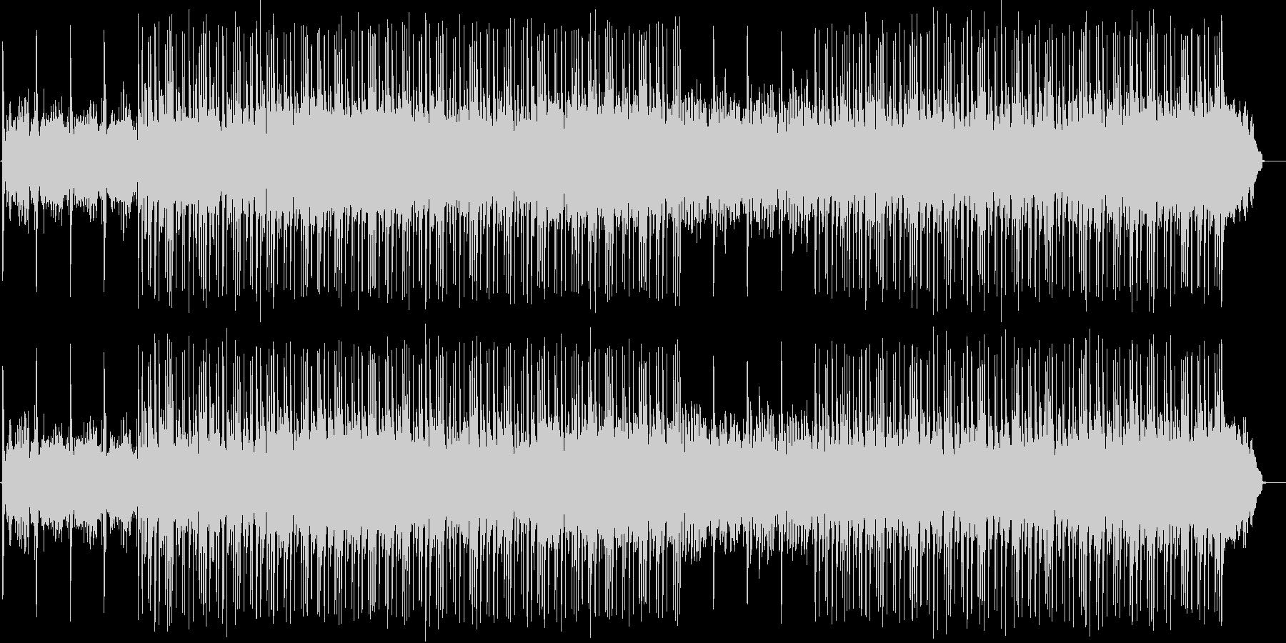 さわやかな雰囲気のBGM2の未再生の波形
