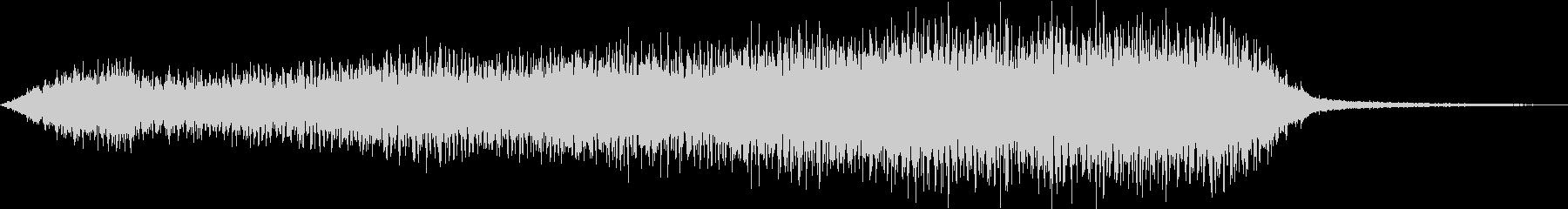 蒸気機関車の汽笛2の未再生の波形