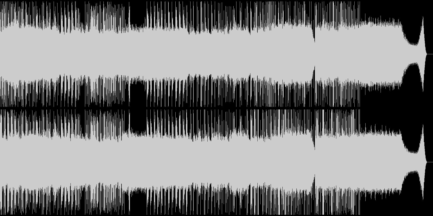 railway sequenceの未再生の波形