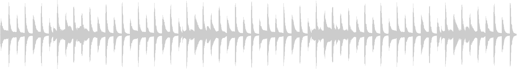 スマホTVCMの様な明るいループ。の未再生の波形