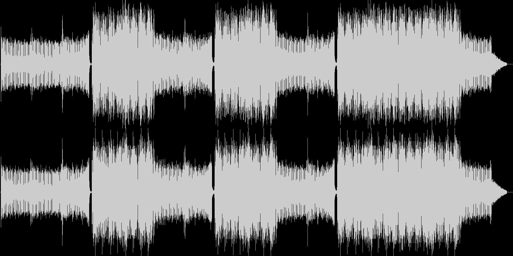 EDMクラブ系ダンスミュージック-05の未再生の波形