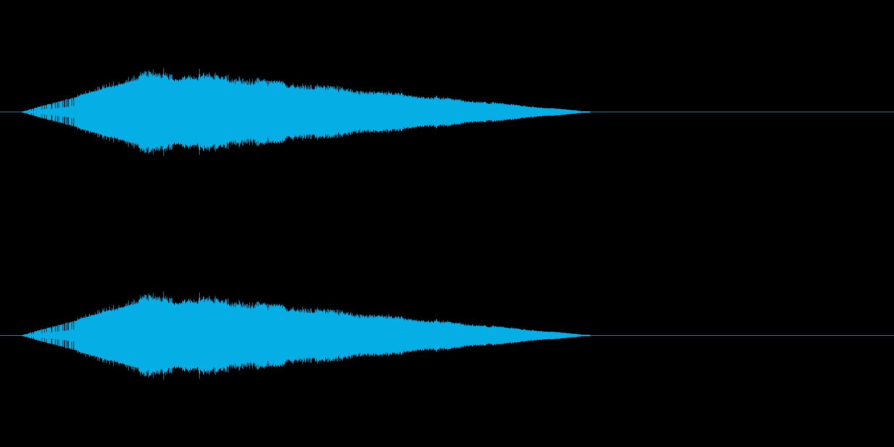 レトロゲーム風・幻惑・毒3の再生済みの波形
