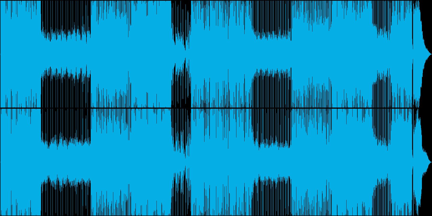 ゆったりレゲトンの爽やかシーケンスEDMの再生済みの波形