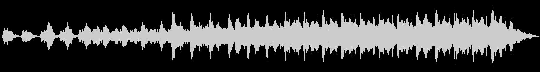 機械音 不気味な音 終末を感じさせる音の未再生の波形