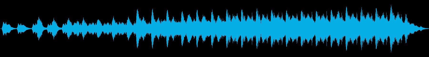 機械音 不気味な音 終末を感じさせる音の再生済みの波形