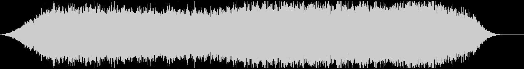神秘的な雰囲気のアンビエント背景音6ー2の未再生の波形