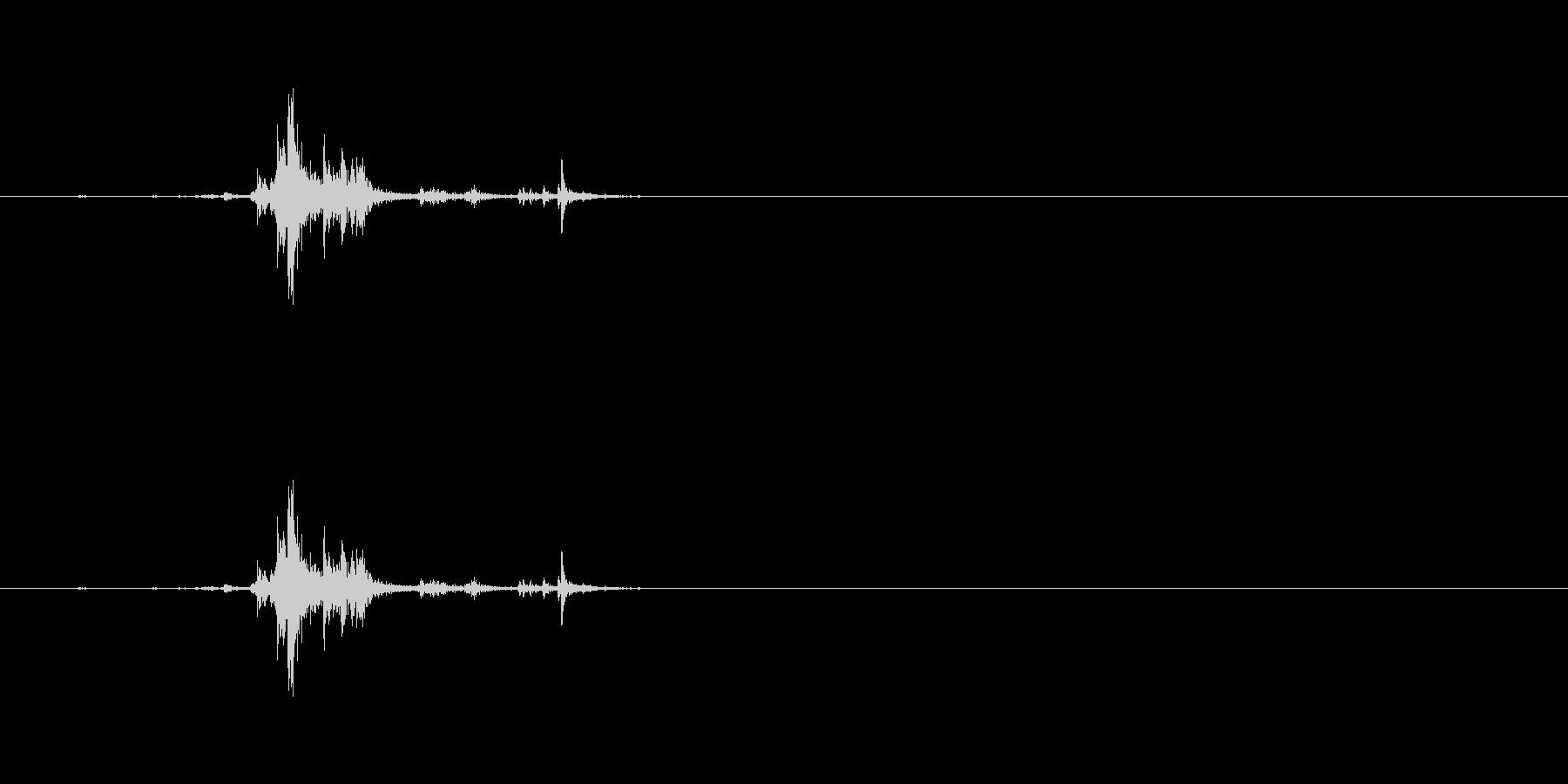 【筆箱01-2(開ける)】の未再生の波形
