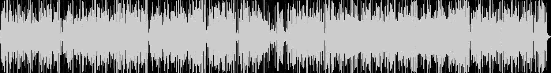 ハモンドオルガンメインのジャズファンクの未再生の波形