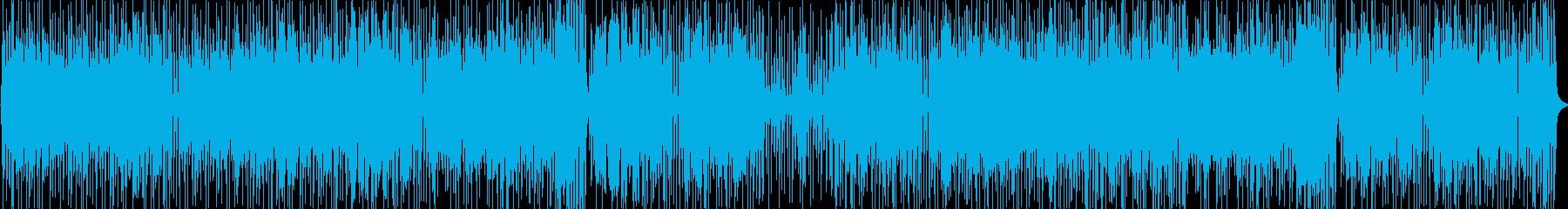 ハモンドオルガンメインのジャズファンクの再生済みの波形
