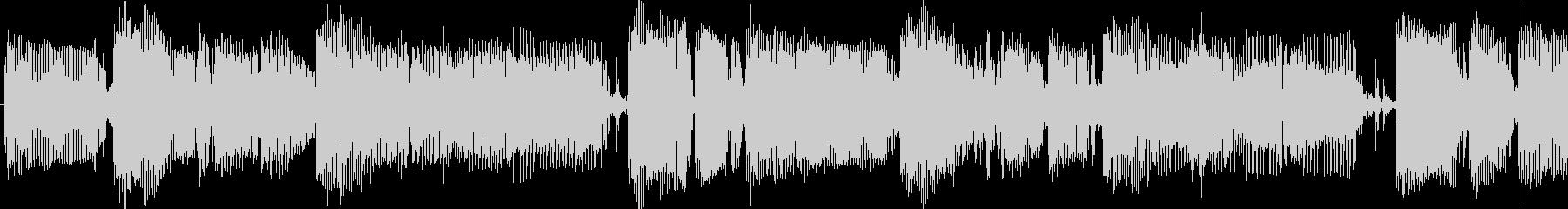 クールな雰囲気のスラップベースループソロの未再生の波形