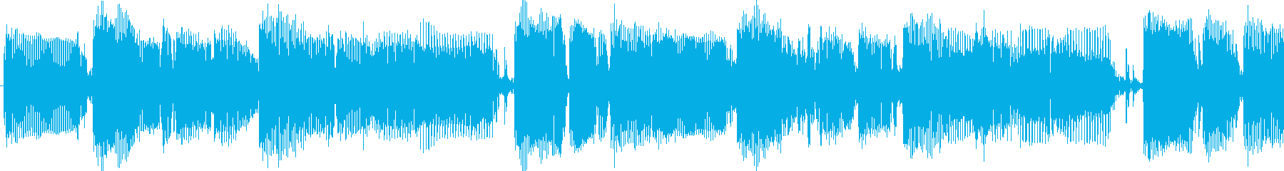 クールな雰囲気のスラップベースループソロの再生済みの波形