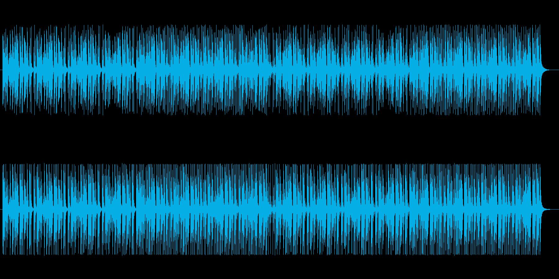 【てゆうか。】明るくはじけるピアノの再生済みの波形