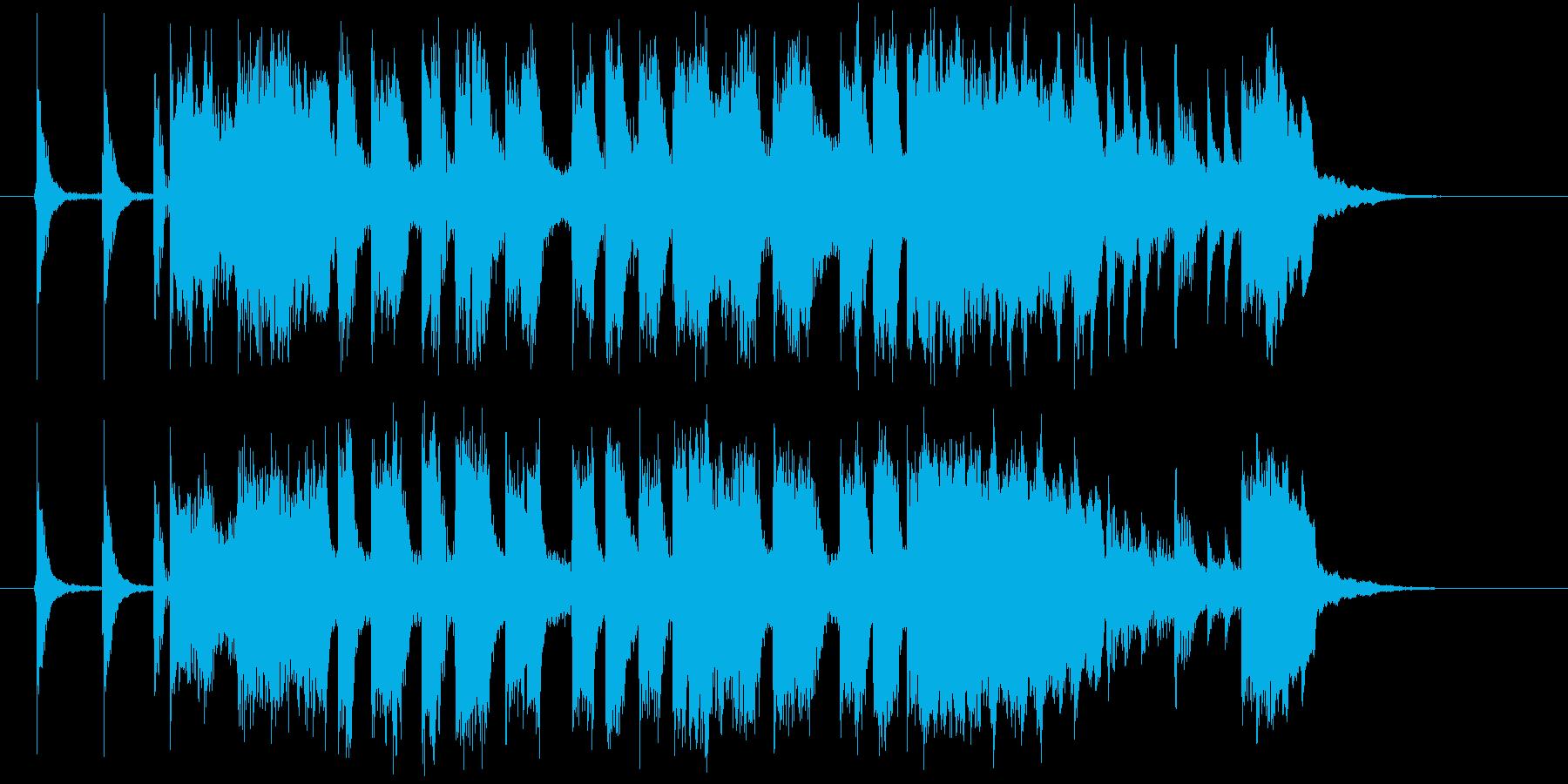 TVショッピング_オープニングの再生済みの波形