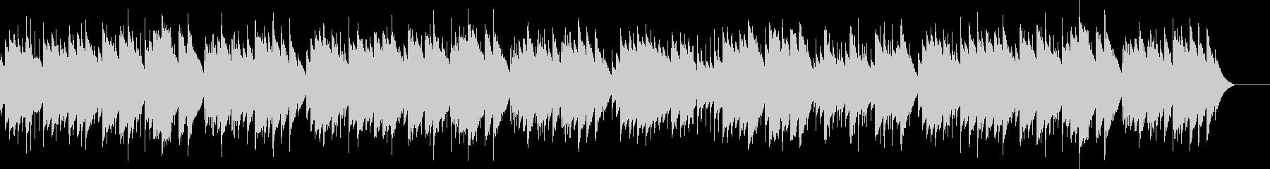 ディヴェルティメント 17番 オルゴールの未再生の波形