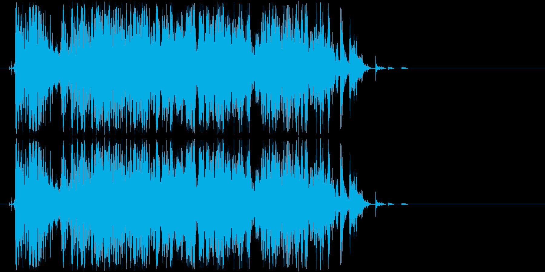コンコロコロコロコロ・・(金属、ボール)の再生済みの波形
