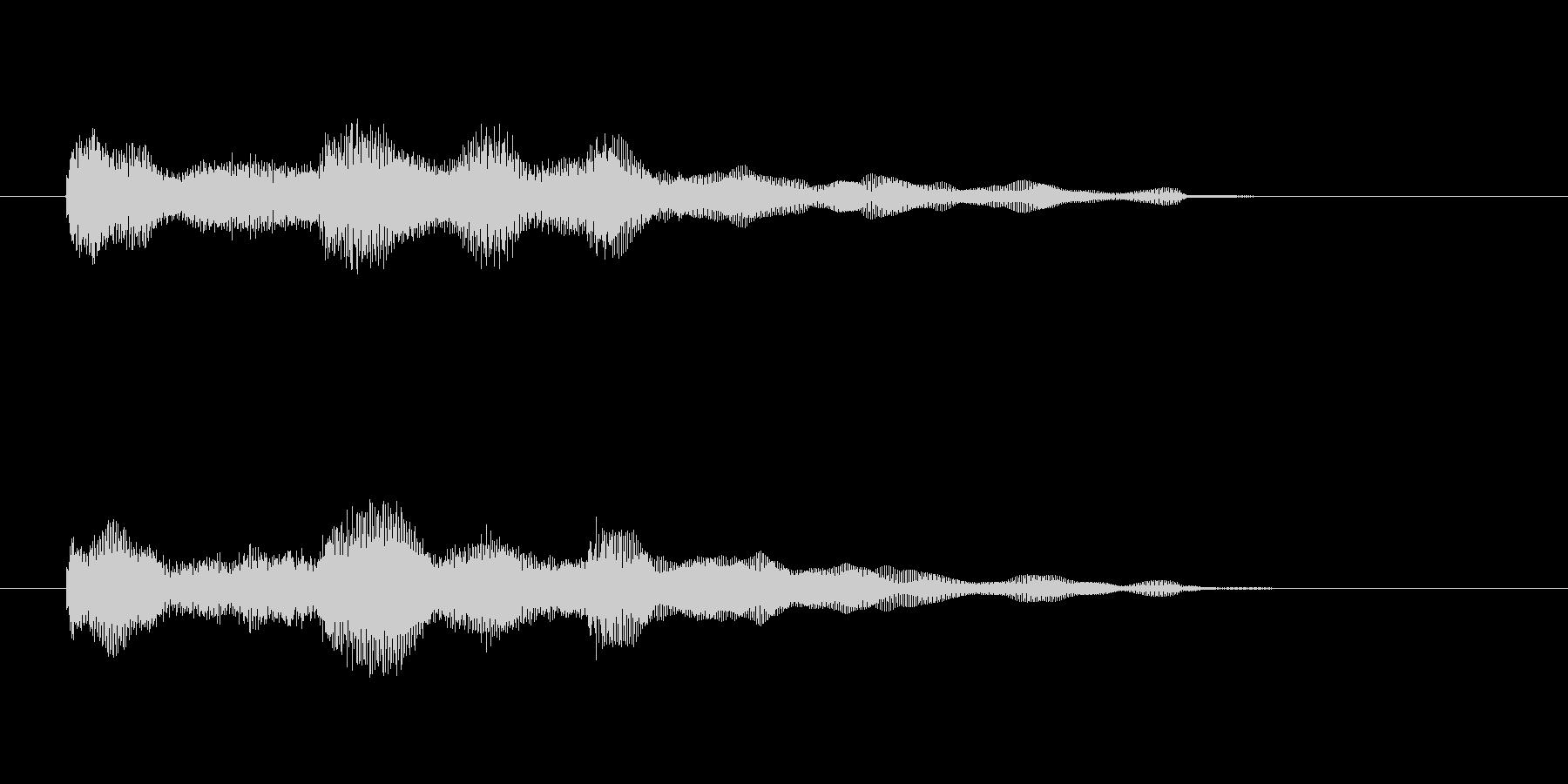 エレピのジングル2の未再生の波形