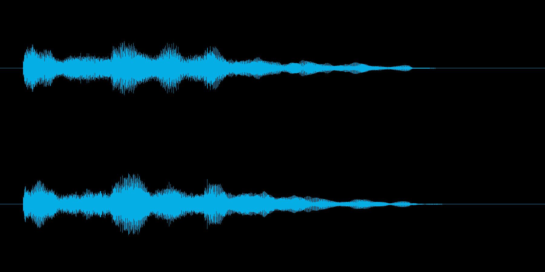 エレピのジングル2の再生済みの波形