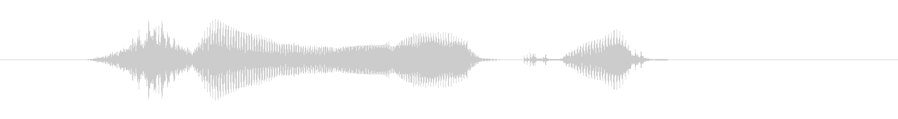 数学の未再生の波形