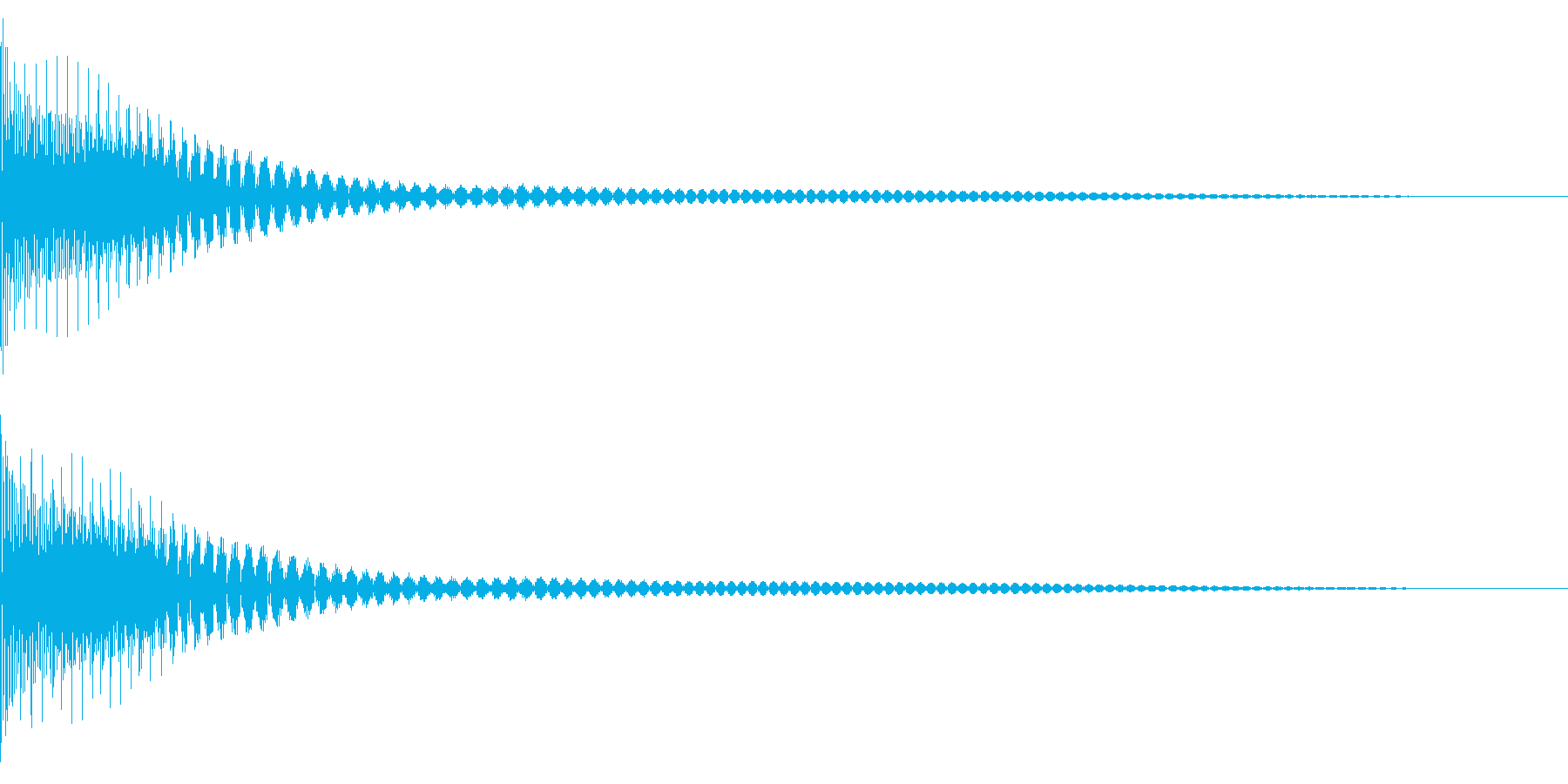 Cancel キャンセルコマンドSE 5の再生済みの波形