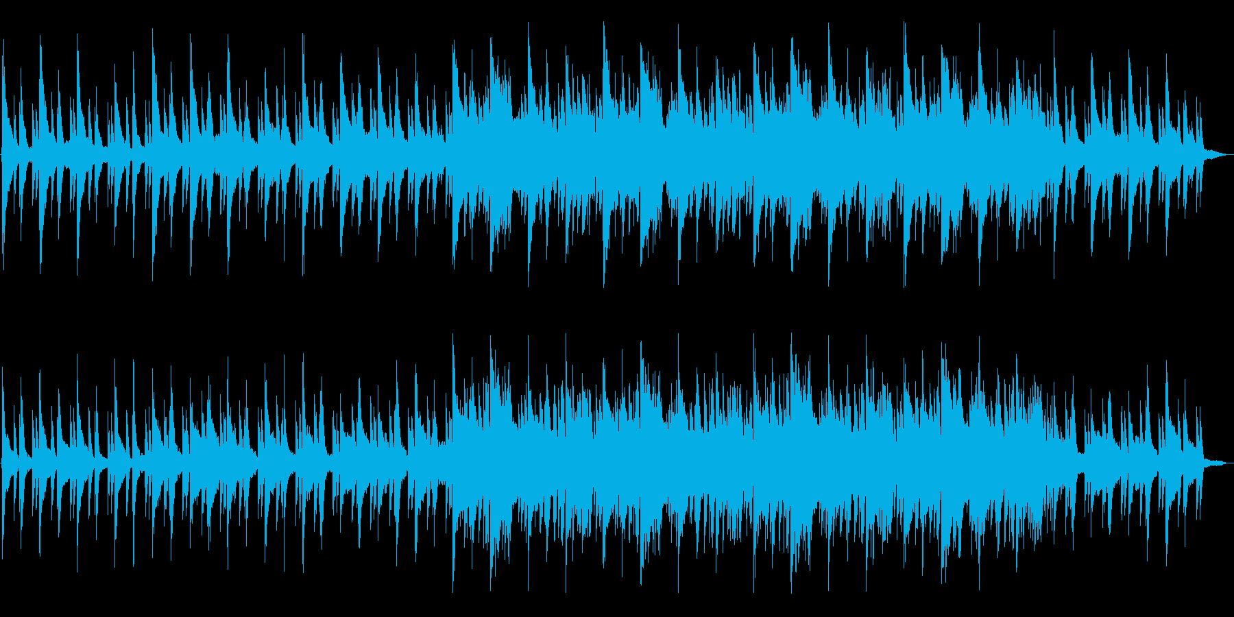 ピアノの音色が美しいポップスの再生済みの波形