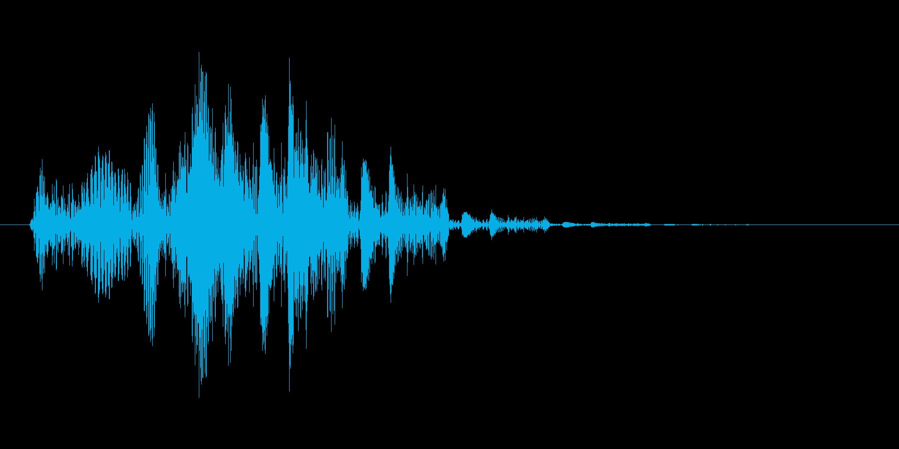 ポップアップ_決定音系_08の再生済みの波形