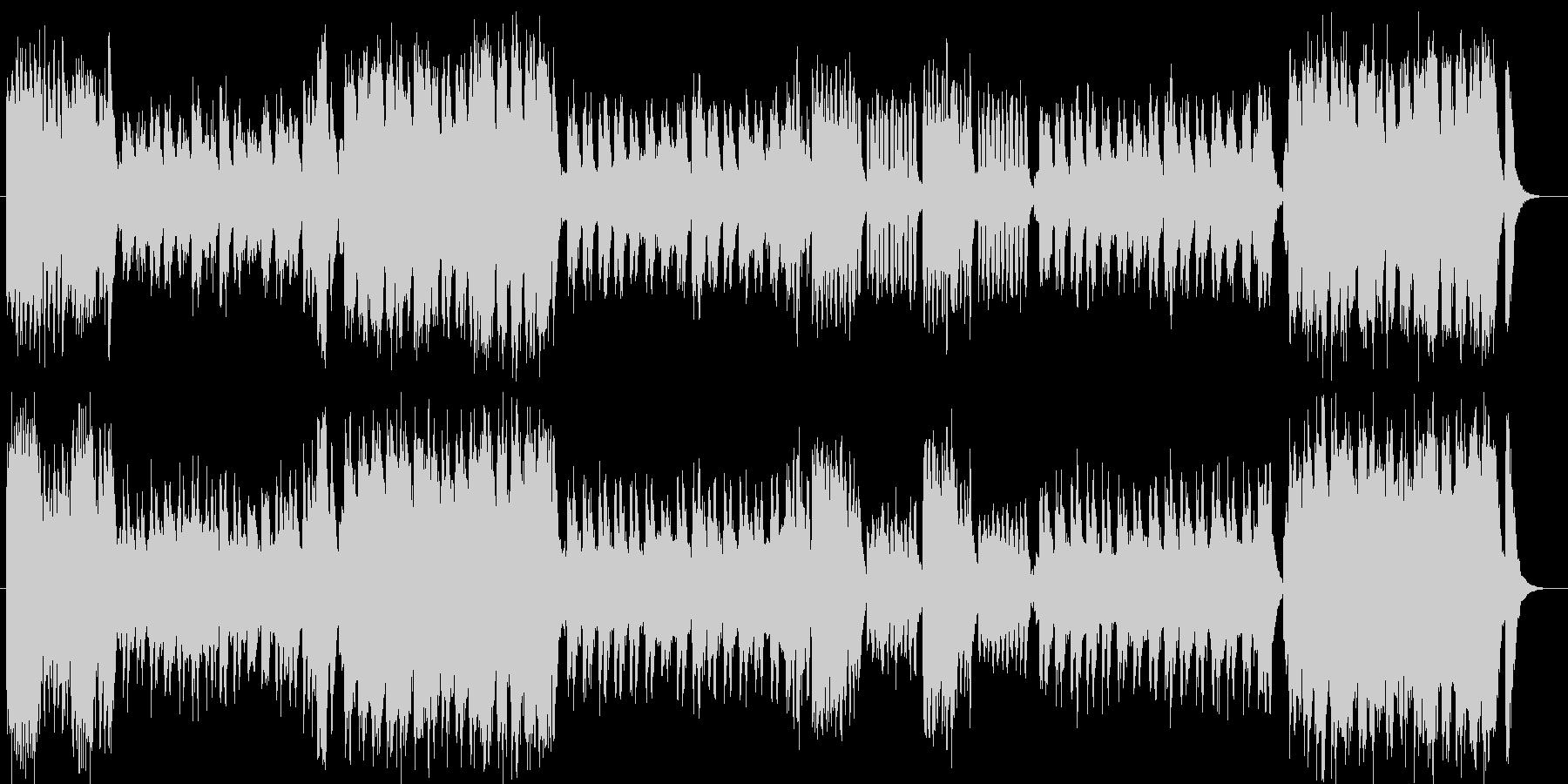 ファンタジーで豪華な弦管楽器シンフォニーの未再生の波形