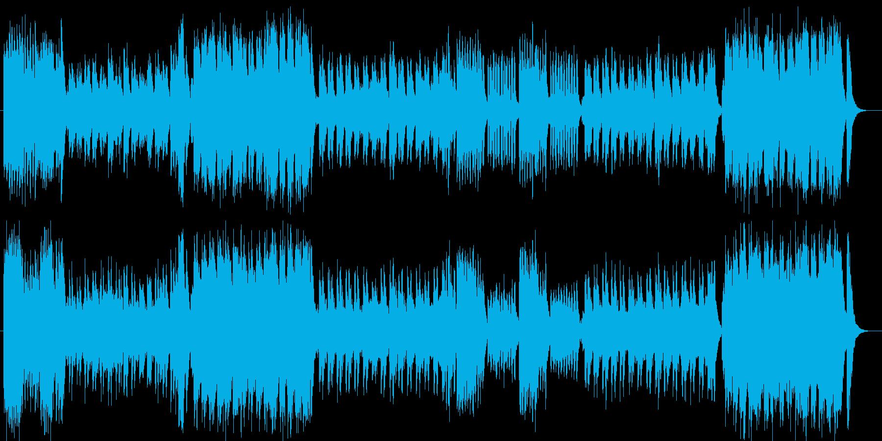 ファンタジーで豪華な弦管楽器シンフォニーの再生済みの波形