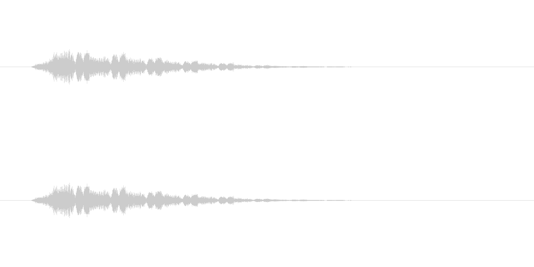 【ポップモーション40-3】の未再生の波形