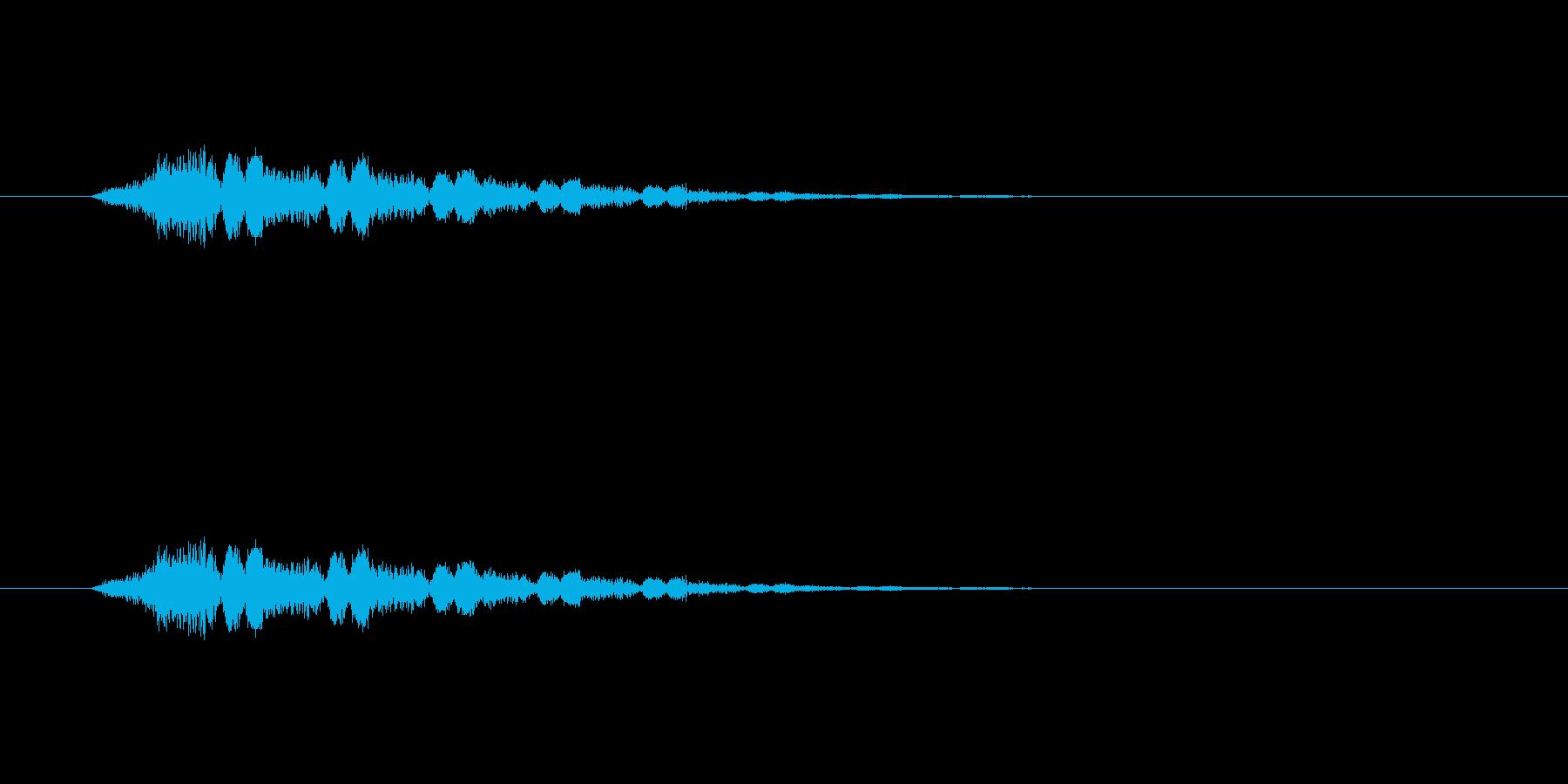 【ポップモーション40-3】の再生済みの波形