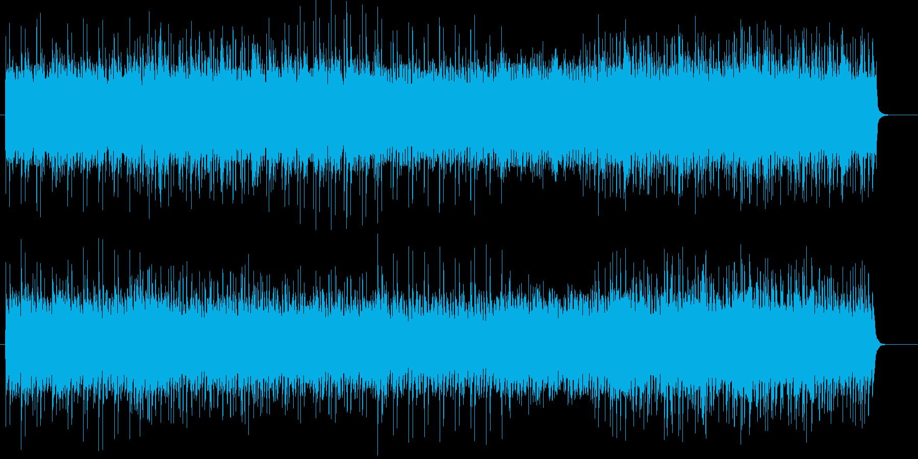 ゲーム音楽風バトルなロック曲ですの再生済みの波形