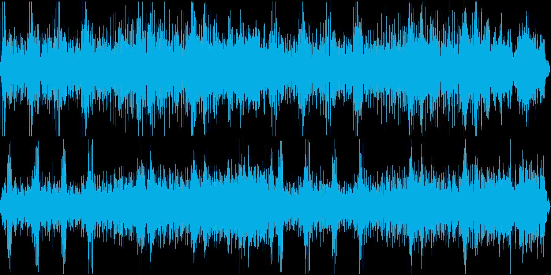 爽やかな朝をイメージしたBGMの再生済みの波形