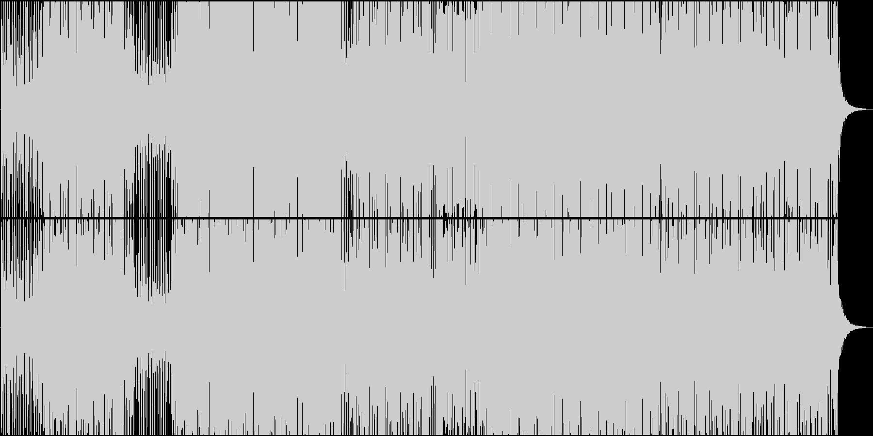 楽しいラテンピアノのレガトン系EDMの未再生の波形