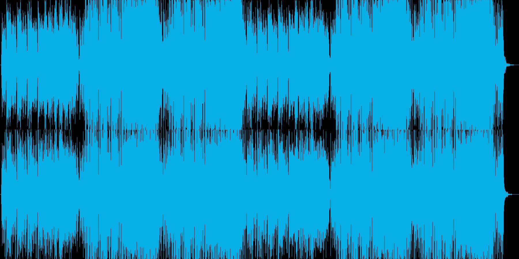 ドラマ・映画 コメディーシーン  B16の再生済みの波形