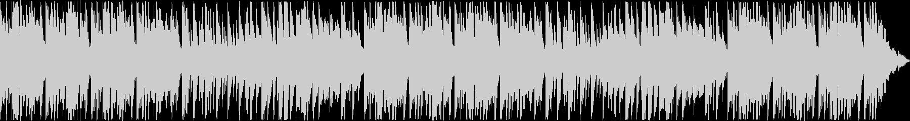 悲しげな旋律のピアノバラードの未再生の波形