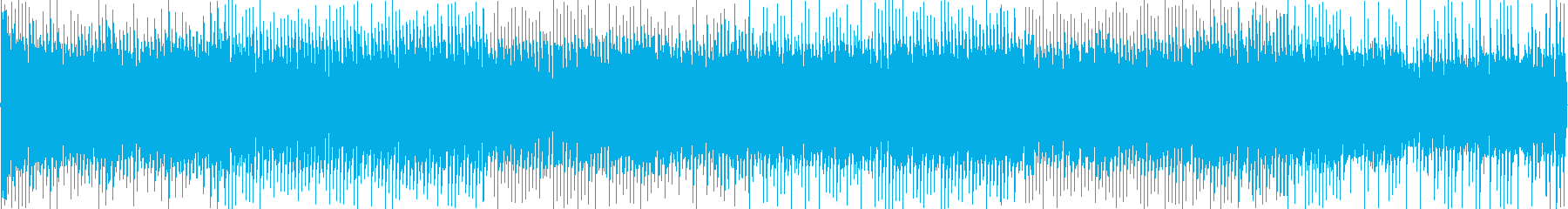 レトロ感の漂う宇宙的なテクノ2の再生済みの波形