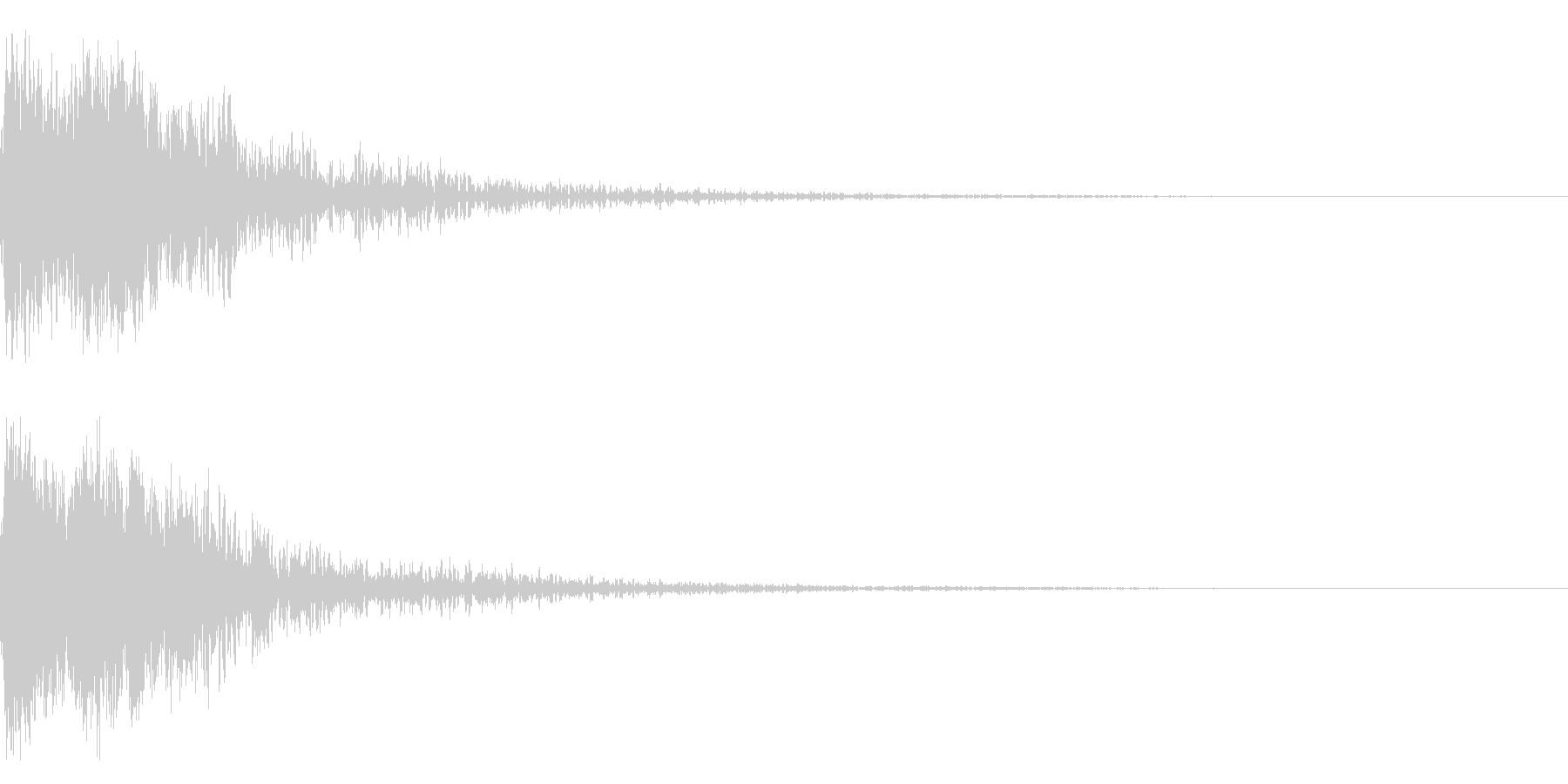 和風 オーケストラヒット ジングル!3bの未再生の波形