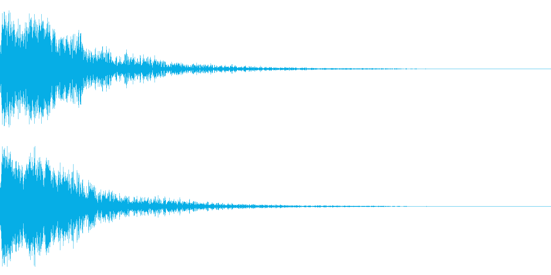 和風 オーケストラヒット ジングル!3bの再生済みの波形