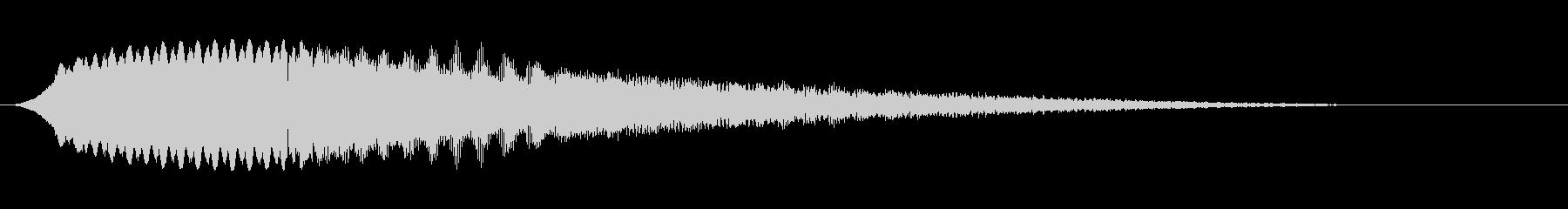 ディスコサイレン タイプCの未再生の波形