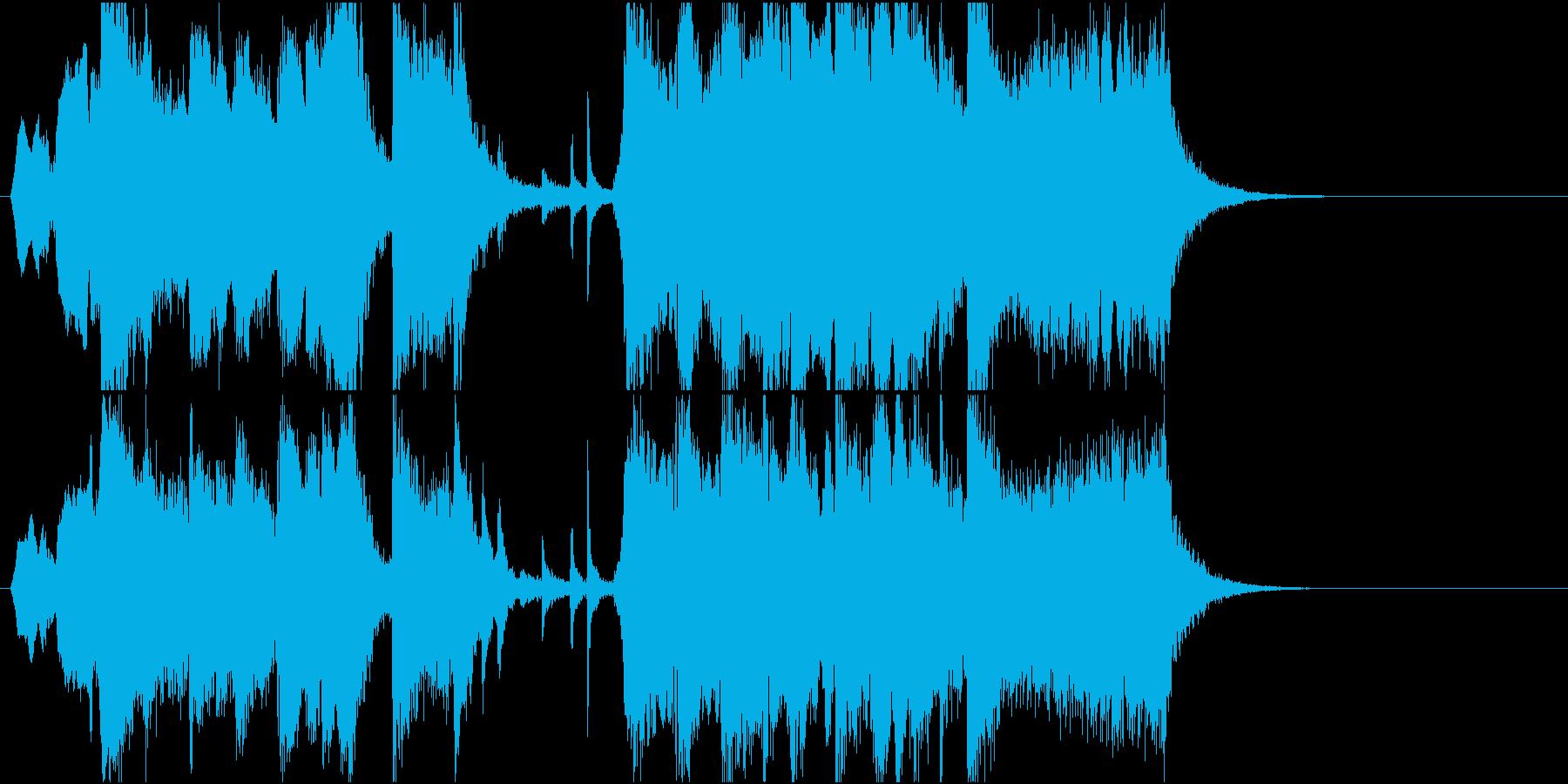 哀愁感じつつも上品さが少し漂うスイング2の再生済みの波形