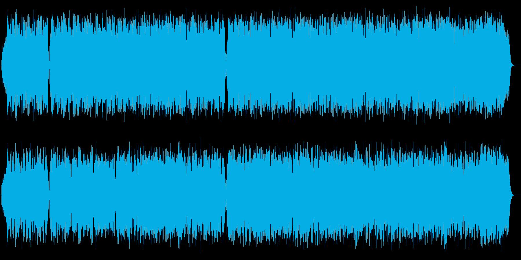 素直で伸びやかなワルツ・ソングの再生済みの波形