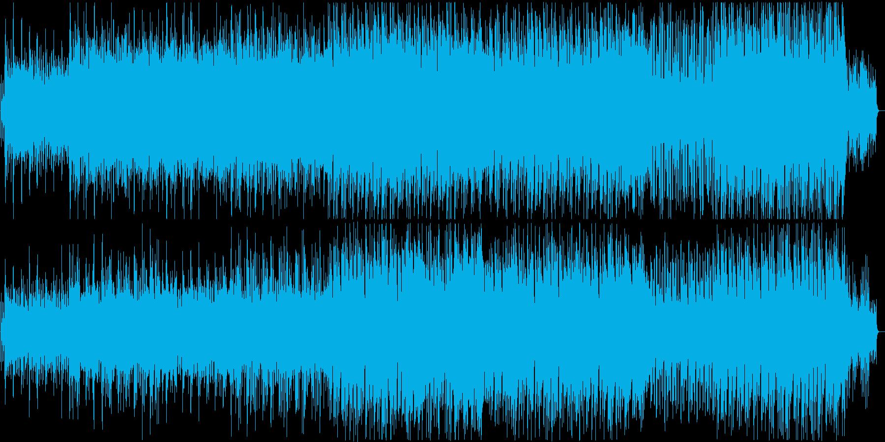 ボサノヴァ・サンバ・クラブミュージックの再生済みの波形