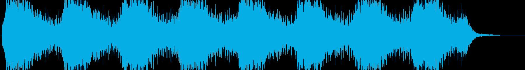 no.2「水」「水のある風景」 B8の再生済みの波形
