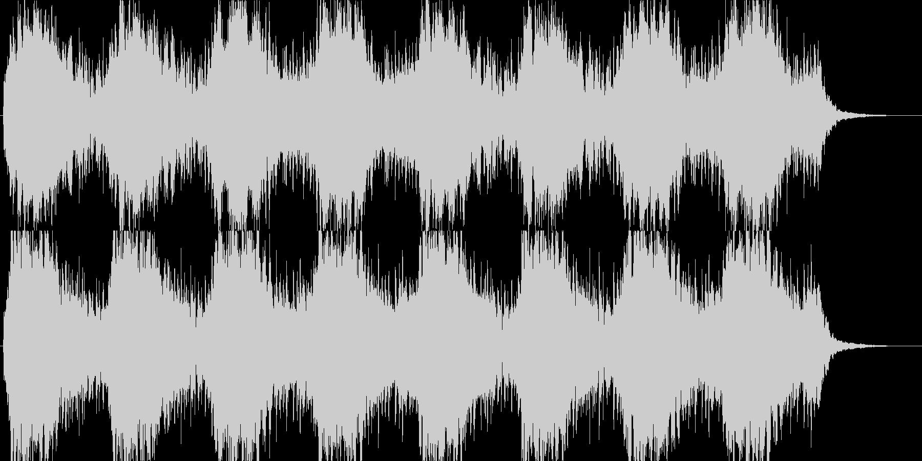 no.2「水」「水のある風景」 B8の未再生の波形