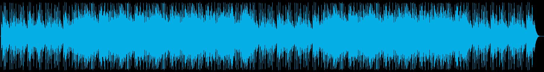 明るくミステリアスな鉄琴シンセサウンドの再生済みの波形
