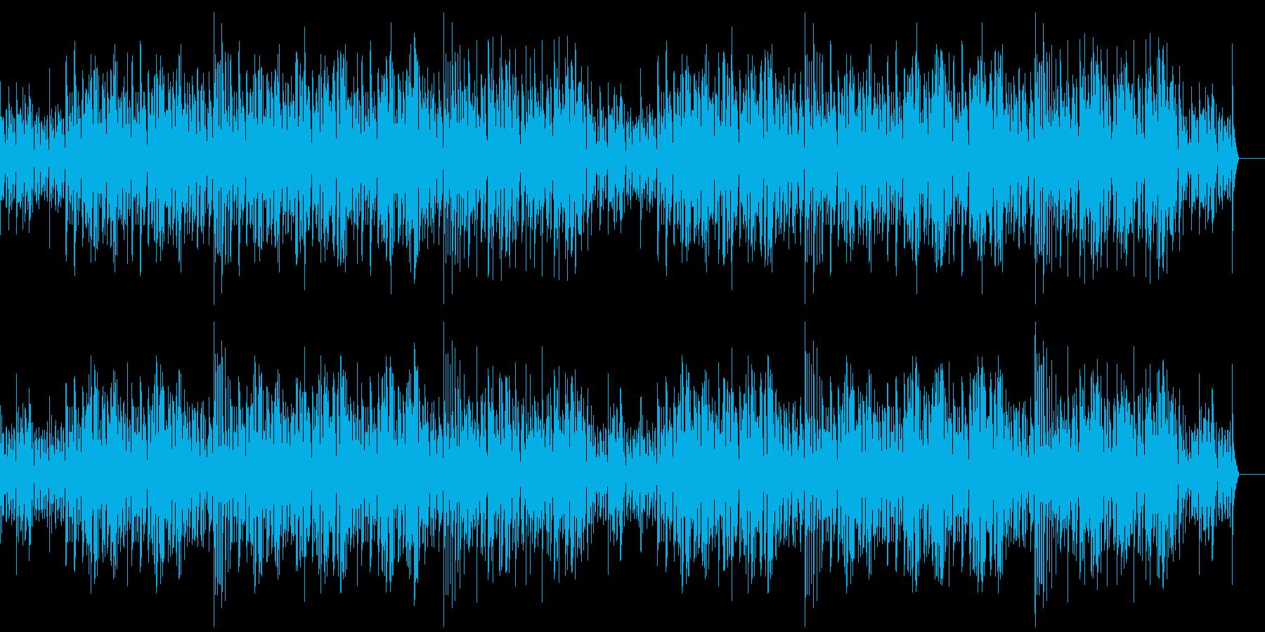 透明感のある繊細なジャズの再生済みの波形