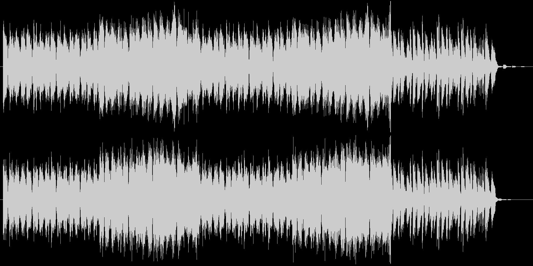 エレクトロ、トランス的なロックの未再生の波形