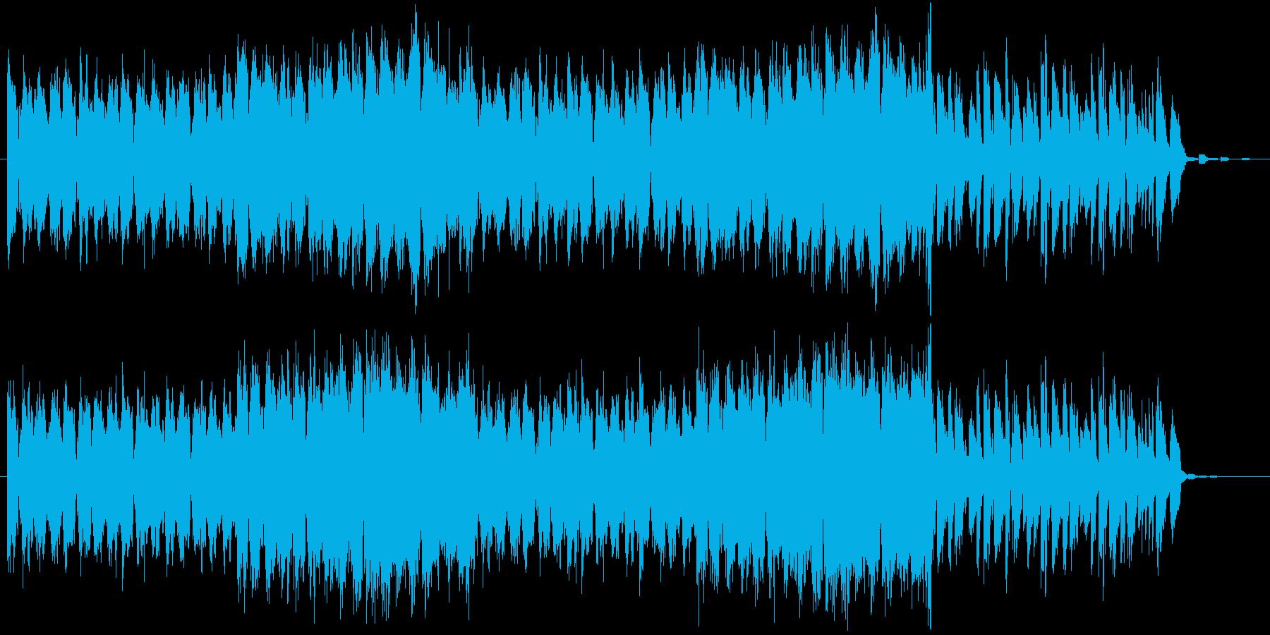 エレクトロ、トランス的なロックの再生済みの波形