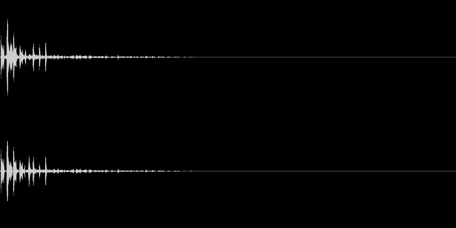 スライムが飛び出る ピュル 水鉄砲 ピュの未再生の波形