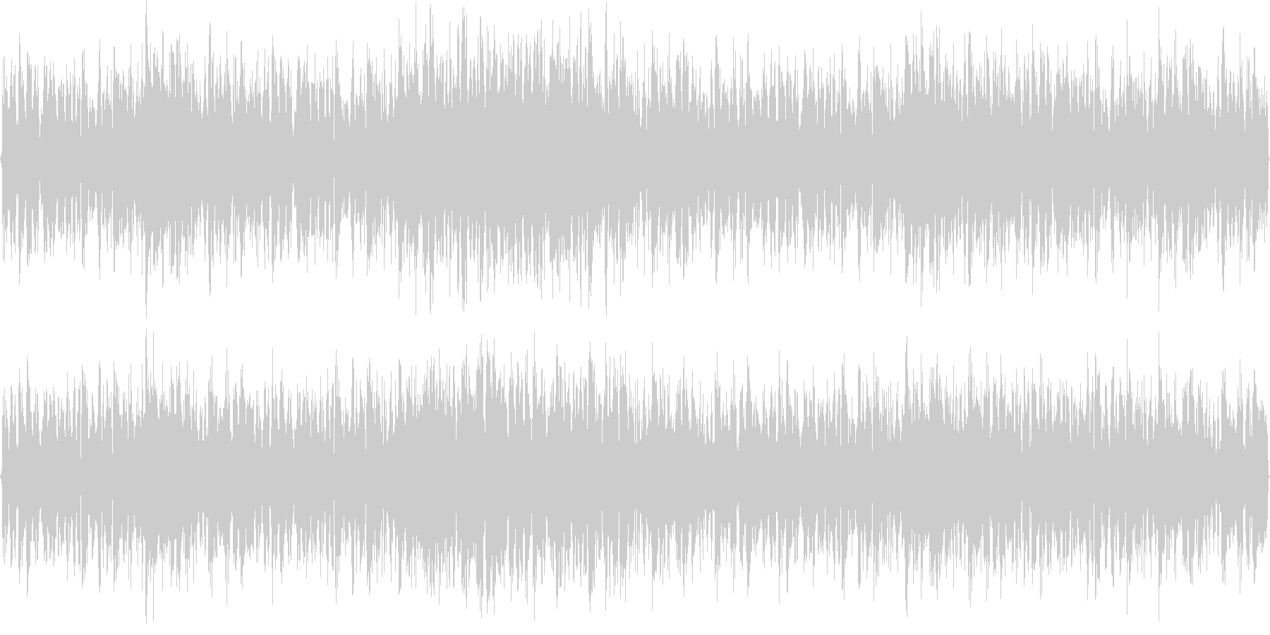 パーカッシブルトランス ループ用の未再生の波形
