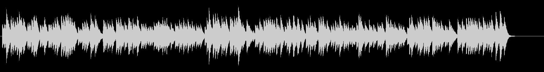 ジュピター/オルゴール風ヒーリング、映像の未再生の波形